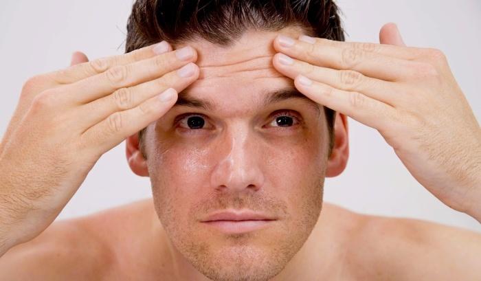 Народные средства от морщин у мужчин: эфективные рецепты домашнего приготовления, Нет морщин