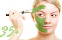 Маски от морщин на лице после 35 лет: рецепты и правила антивозрастного ухода