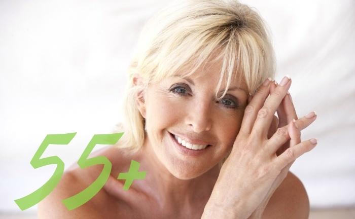 Как омолодить лицо в 55 лет