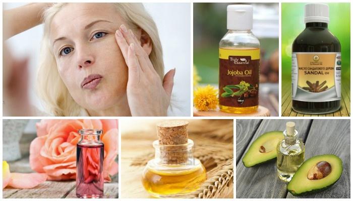 Натуральные масла для кожи лица от морщин